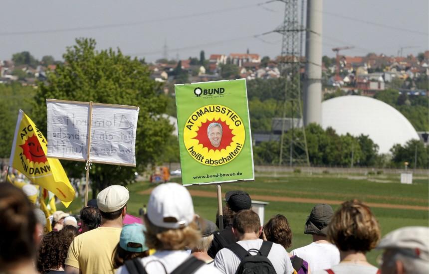 Anti-Atom Demonstration '25 Jahre Tschernobyl'