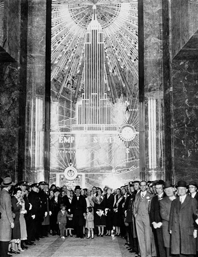 80 Jahre empire state building