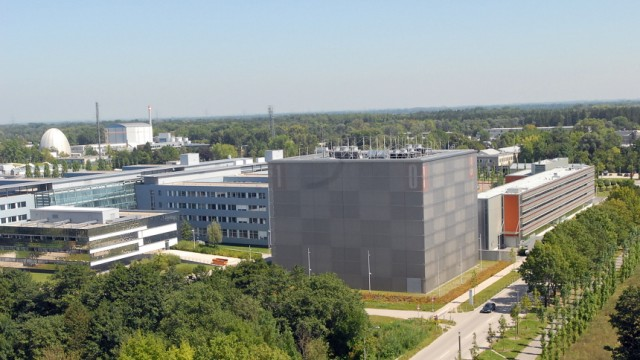 Campus der TU München in Garching, 2010