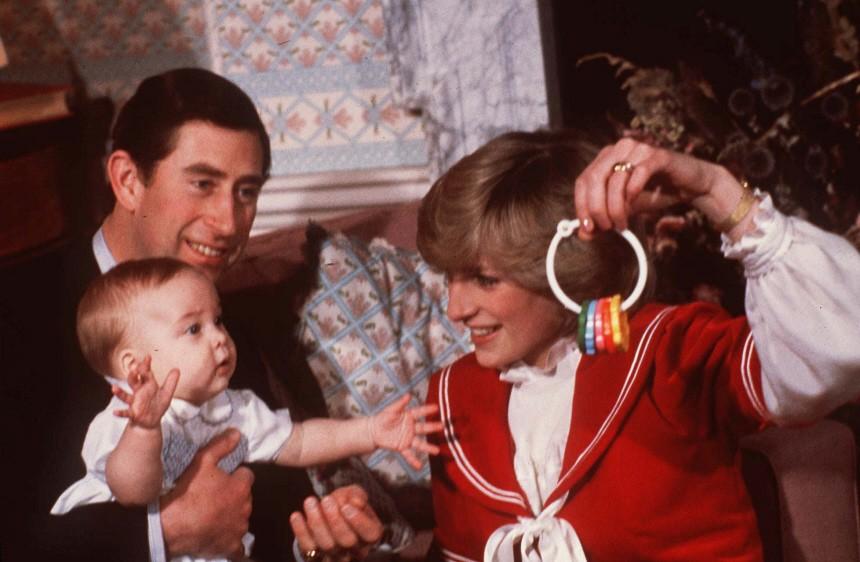 Prinz Charles, Prinz William, Prinzessin Diana, 1982