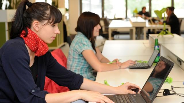 Die Kollegen mitmieten: Coworking hilft Ein-Mann-Unternehmern