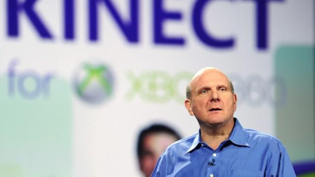 Smartphone-Markt: Microsoft und RIM: Microsoft-Chef Steve Ballmer (Archivbild): Überraschender Auftritt als Blackberry-Freund.