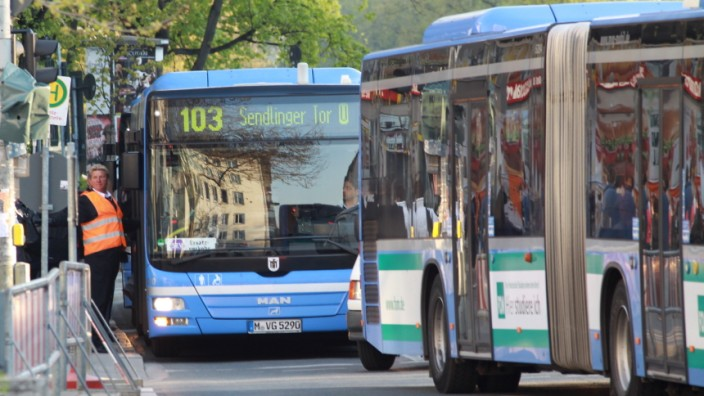 MVV-Busse in München
