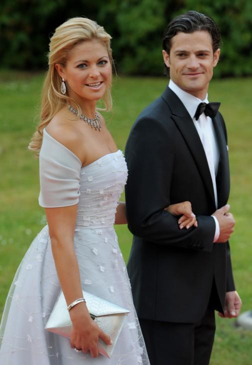 Hochzeit Prinzessin Victoria - Ankunft zum Dinner