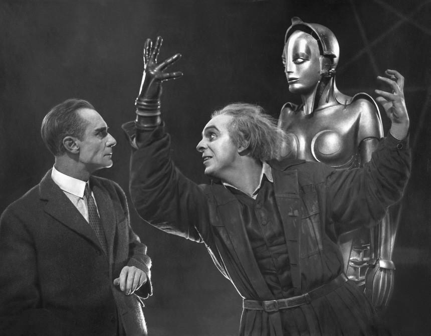 Rudolf Klein-Rogge und Alfred Abel  'Metropolis', 1927 | Rudolf Klein-Rogge and Alfred Abel in 'Metropolis', 1927