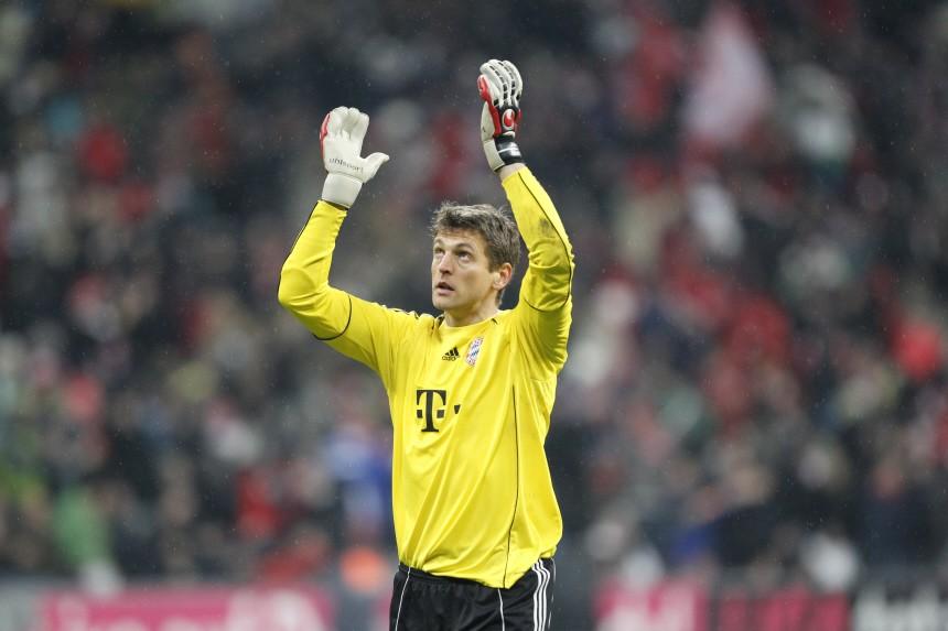 Joerg Butt verlaengert beim FC Bayern