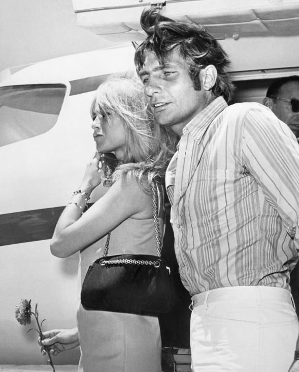 Gunter Sachs und Brigitte Bardot
