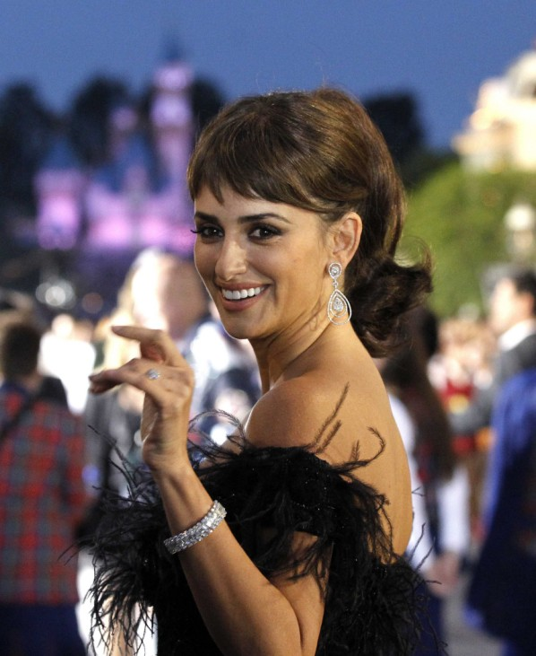 Penelope Cruz smiles at the premiere of Pirates of the Caribbean: On Stranger Tides at Disneyland in Anaheim