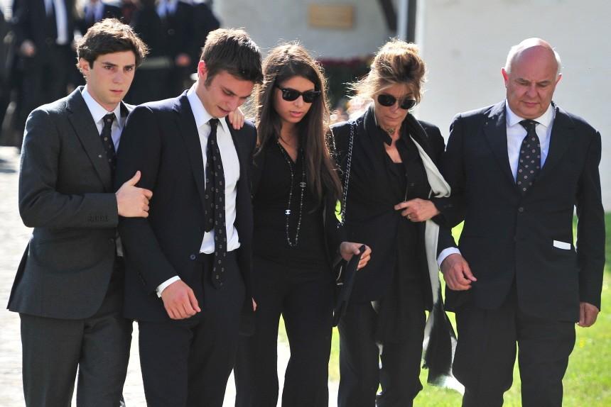 Gunter Sachs Funeral Service