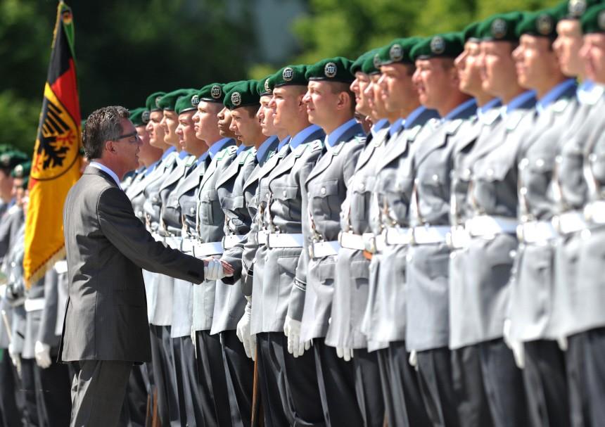 Bundeswehr - Verteidigungsminister de Maiziere