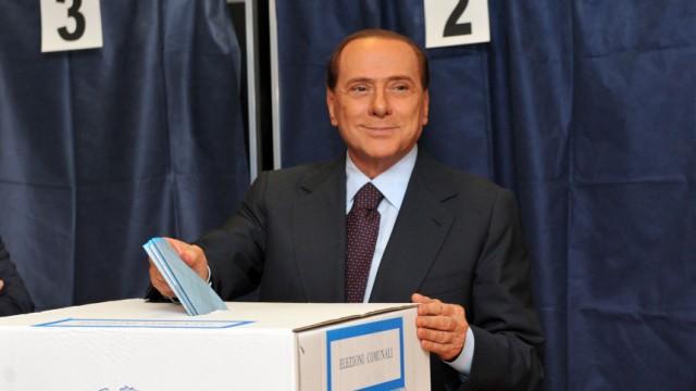 Berlusconi Mailand PDL