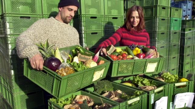 Gemüse und Früchte vom Biobauern