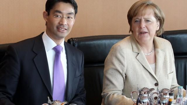 Kabinett Rösler Merkel