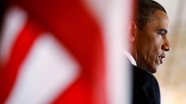 US-Präsident Barack Obama während seiner Grundsatzrede zur US-Politik im Nahen Osten
