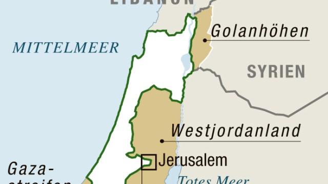 Israel Grenzen