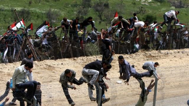 *** BESTPIX *** Palestinians Mark Nakba Day Mourning The Birth Of Israel