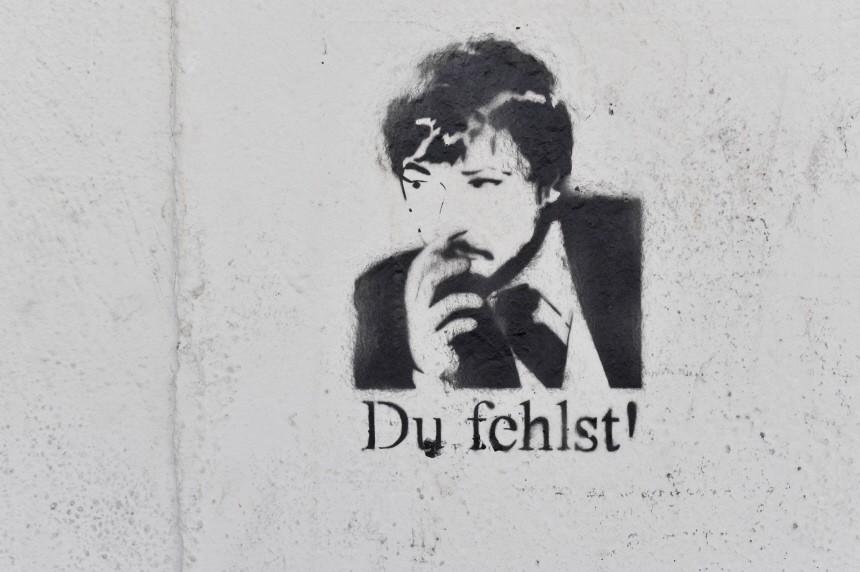 Rainer Werner Fassbinder Grafitti, 2010