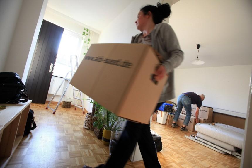 Beim Umzug muss die Wohnung oft noch renoviert werden
