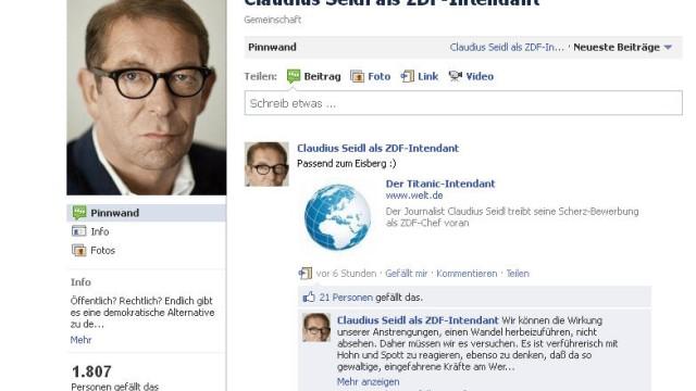 Claudius Seidl als ZDF-Intendant