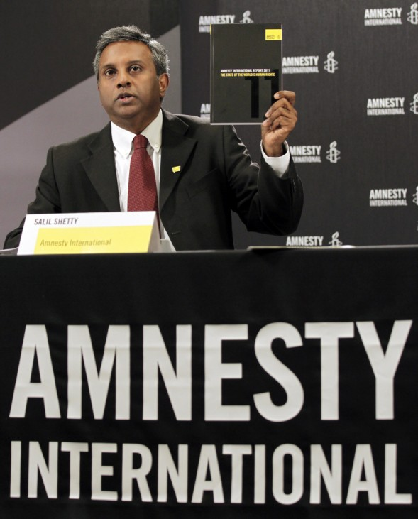Salil Shetty,  der Generalsekretär von Amnesty International