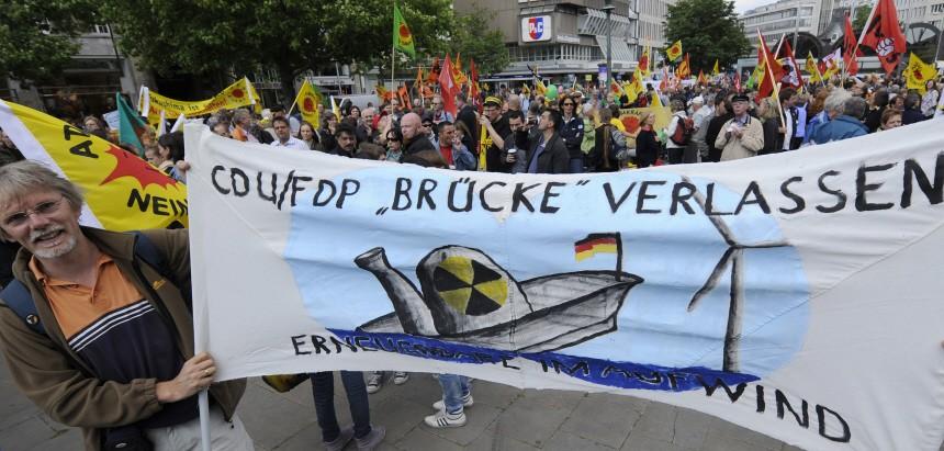 Demo gegen Atomkraft - Hannover