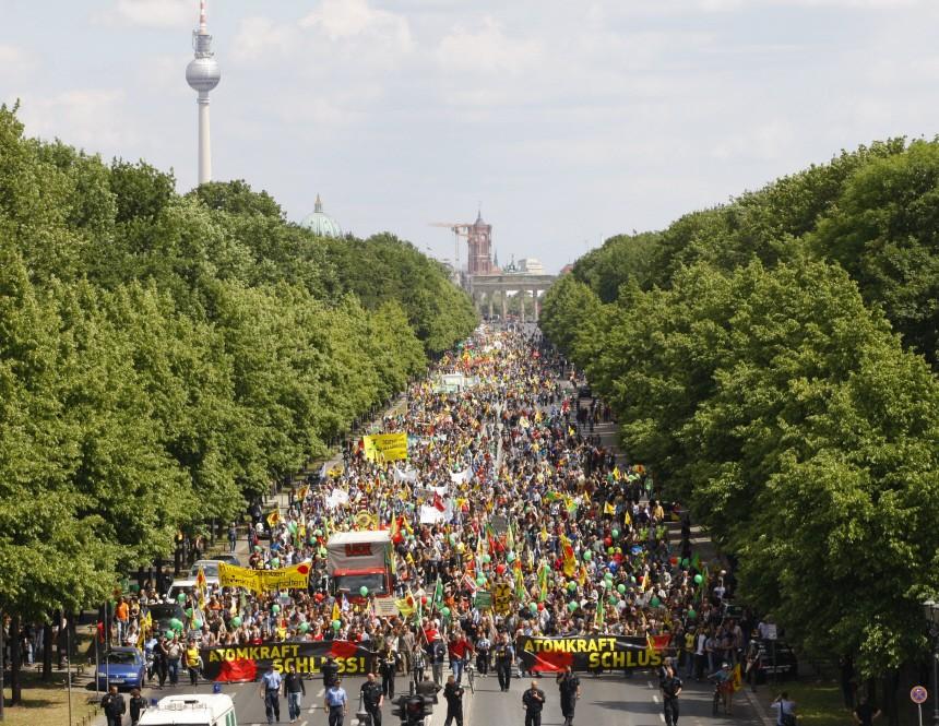 Demo gegen Atomkraft - Berlin