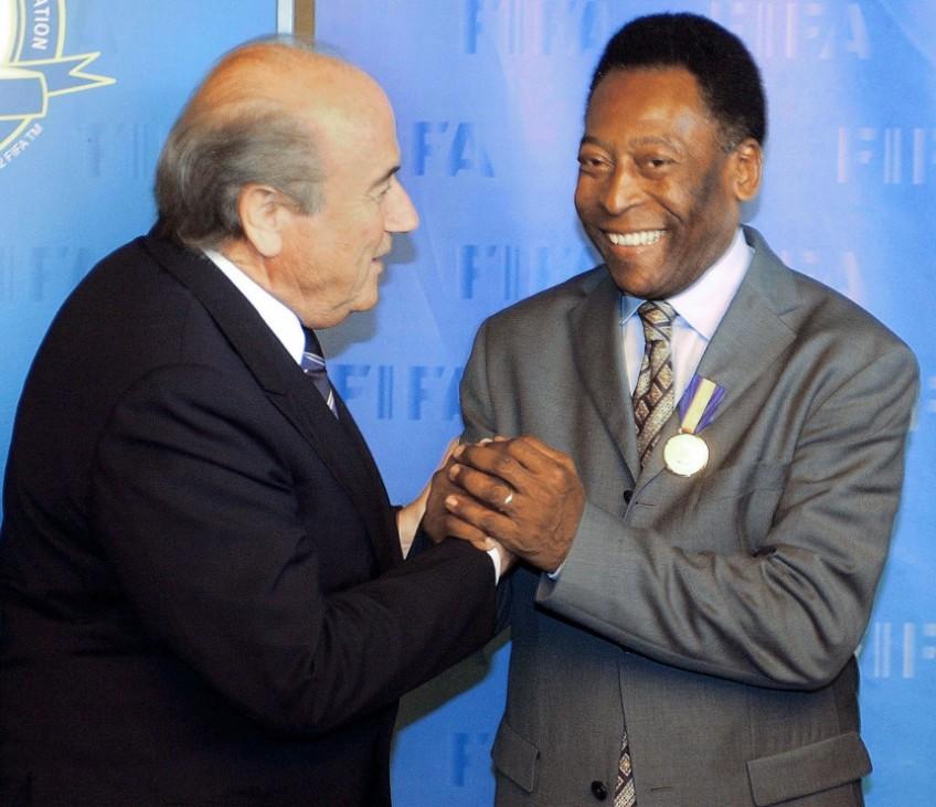 Pele und Blatter