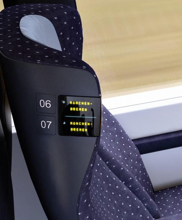 Sitzplatzreservierung im ICx