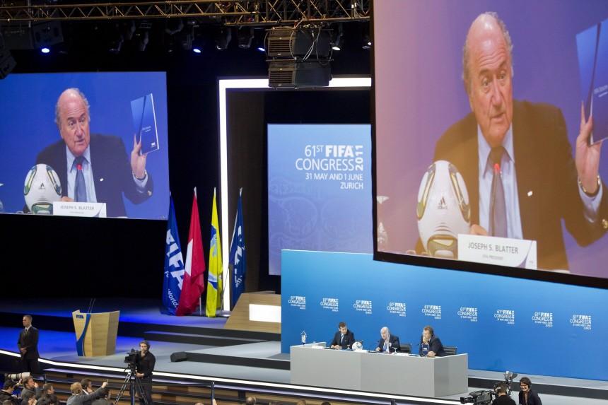 FIFA President Blatter press conference