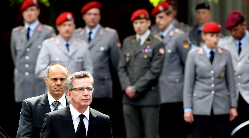 Trauerfeier fuer in Afghanistan getoetete Soldaten
