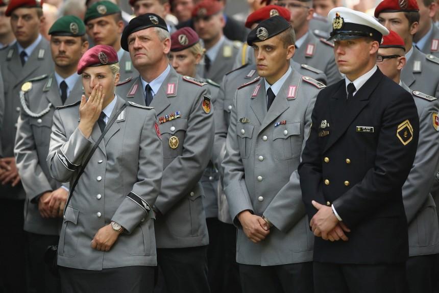 Germany Honours Three Soldiers Killed In Afghanistan