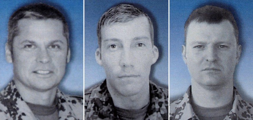 In Afghanistan getoetete Soldaten