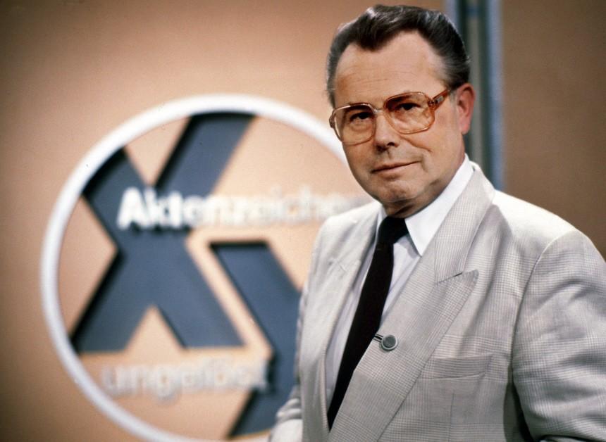 Aktenzeichen XY ... ungelöst ZDF Eduard Zimmermann