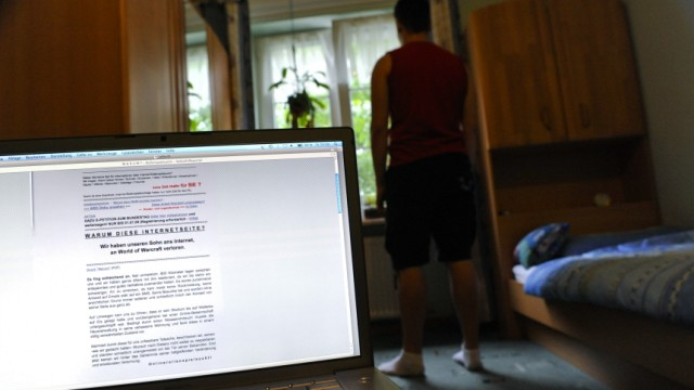 Symbolbild: Computerspielsucht, 2009