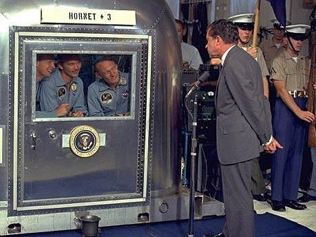Apollo 11, Rückkehr