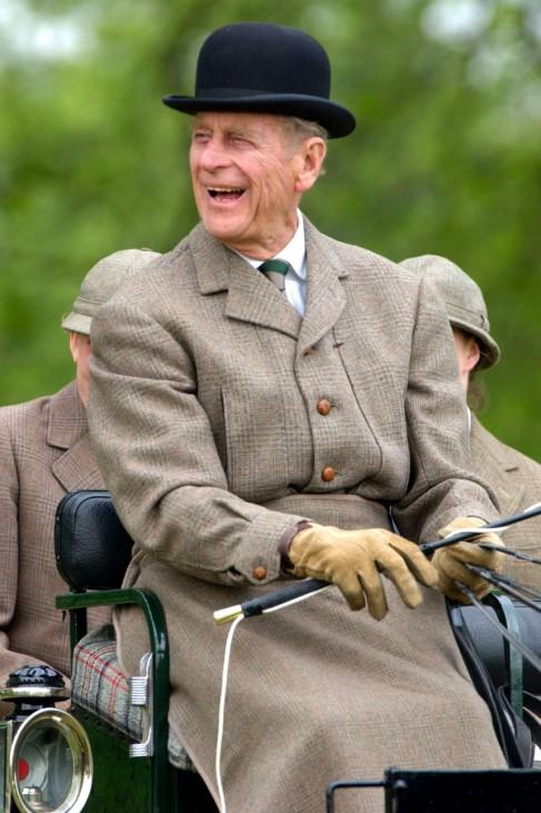 Britischer Prinzgemahl Philip, 2002