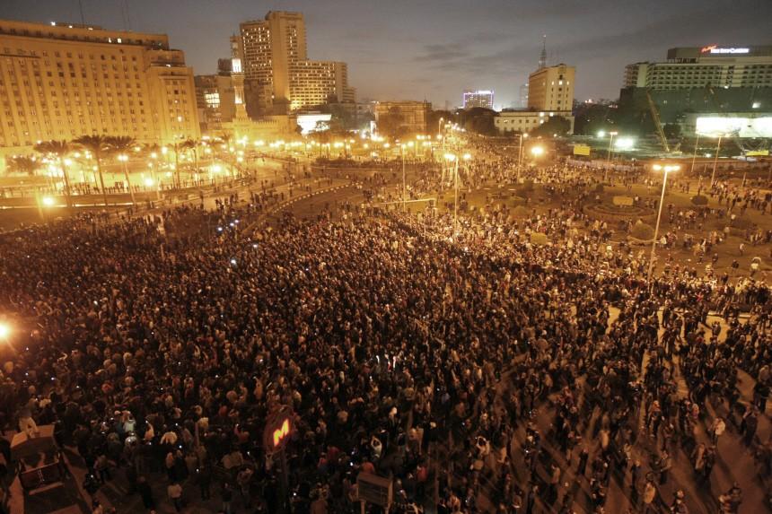 Nächtliche Proteste in Kairo