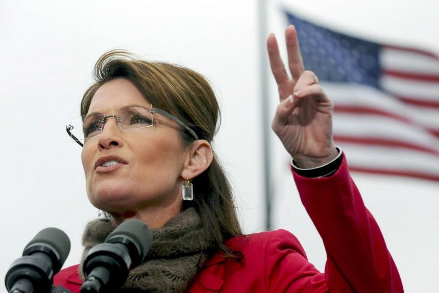 Hält sich bislang offen, sich für die Präsidentschaftskandidatur der Republikaner zu bewerben: Sarah Palin