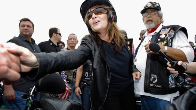Lässt bislang offen, sich für die Präsidentschaftskandidatur der Republikaner zu bewerben: Sarah Palin
