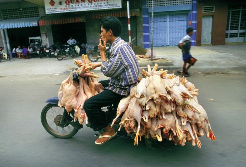 Lastentaxis in Asien