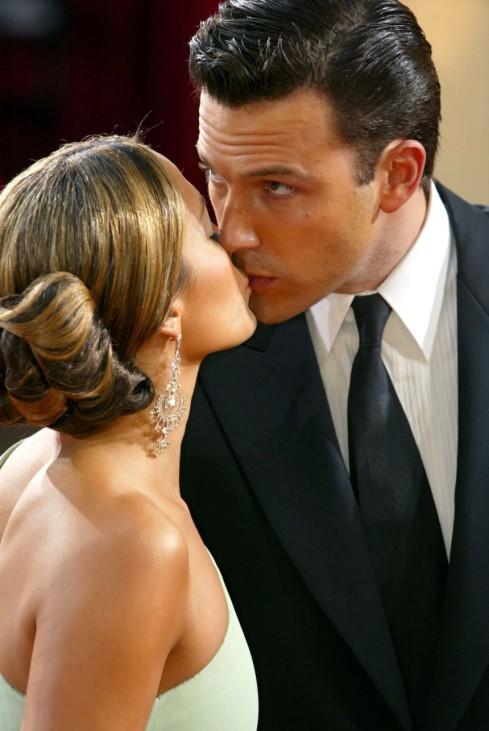 Jennifer Lopez mit Ben Affleck, 2003