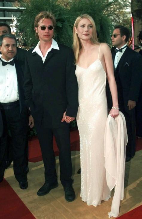 Brad Pitt und Gwyneth Paltrow, 1996