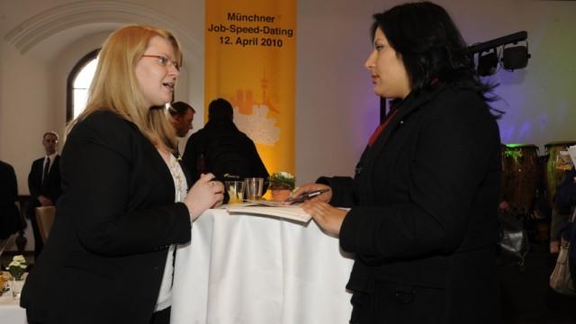 Job-Speed-Dating in München, 2010