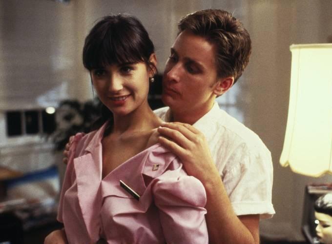 Demi Moore und Emilio Estevez