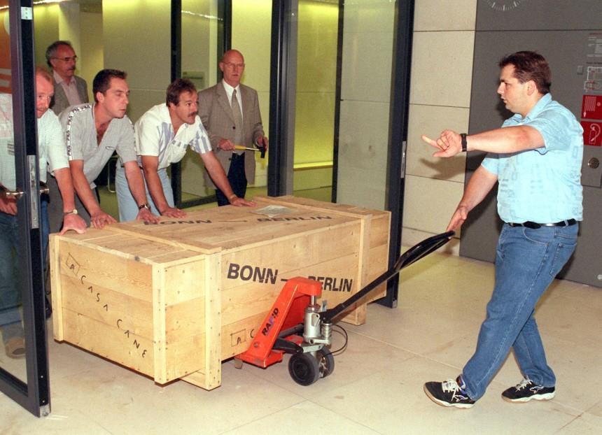 Regierungsumzug Bonn - Berlin