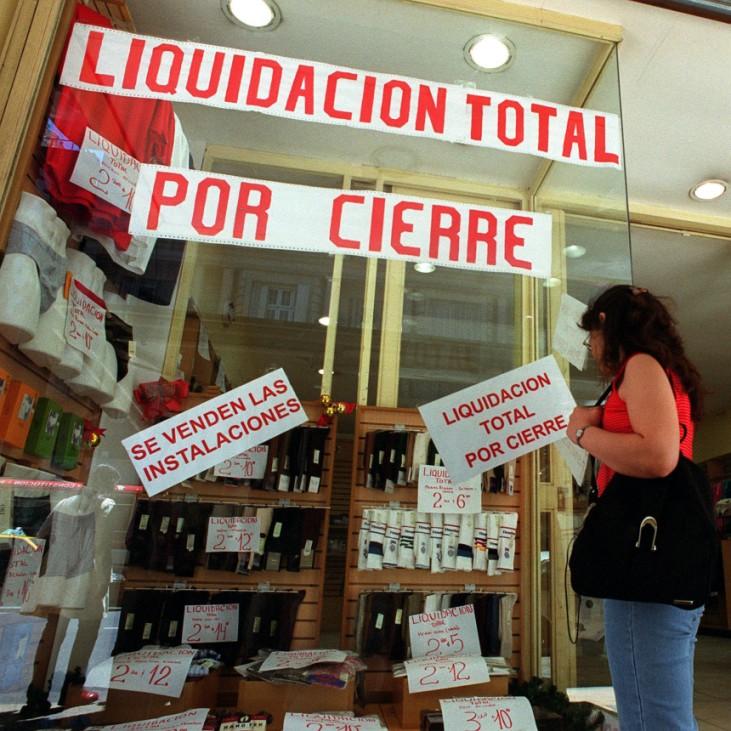 Geschäftsaufgabe in Buenos Aires