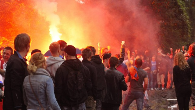 16 Verletzte bei Facebook-Party in Wuppertal