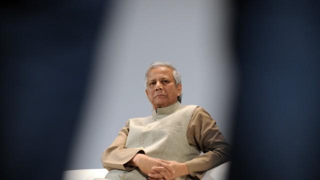 Interview mit Muhammad Yunus: Nobelpreisträger Muhammad Yunus.