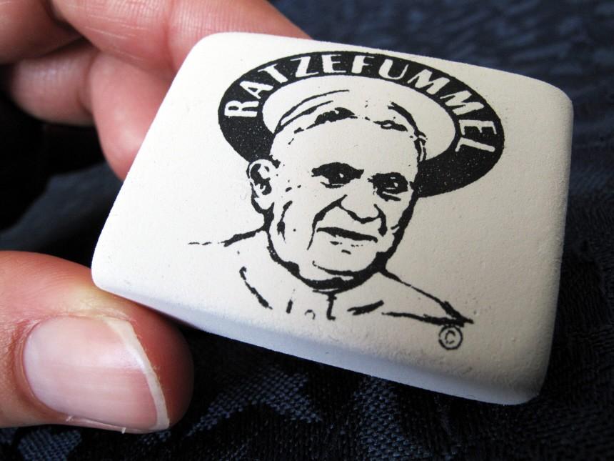 'Ratzefummel' zum Papst-Besuch