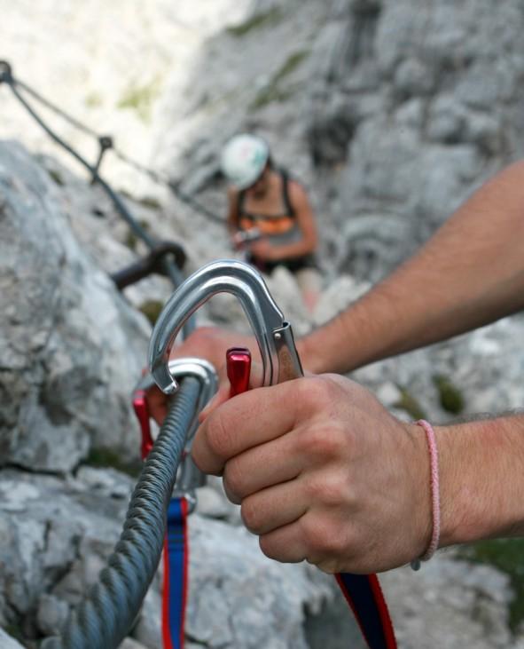Klettersteig Alpspitze Via ferrata